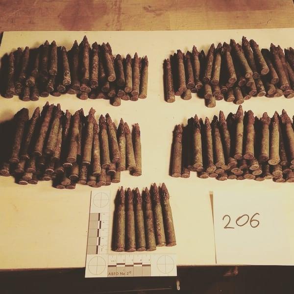 206 Stck. 7.92x57mm Mauser Patronen