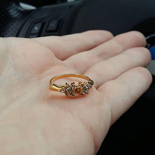 Ring ohne Stein Modeschmuck
