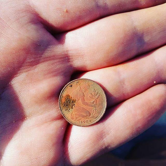50 Pfennig 1984 G Rückseite
