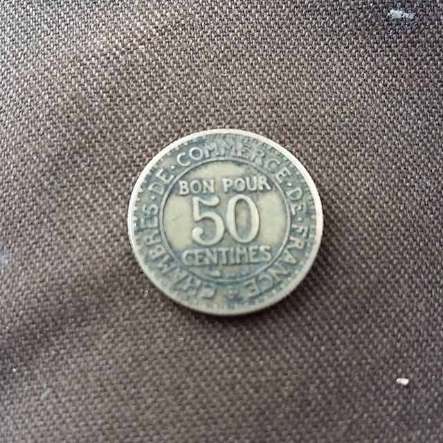 50 Centimes 1922